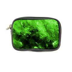 Bright Green Abstract Coin Purse