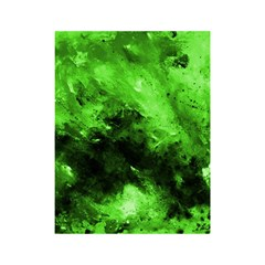 Bright Green Abstract Shower Curtain 48  X 72  (small)