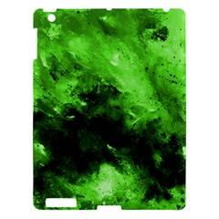 Bright Green Abstract Apple Ipad 3/4 Hardshell Case