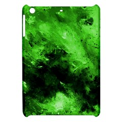 Bright Green Abstract Apple Ipad Mini Hardshell Case by timelessartoncanvas