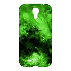 Bright Green Abstract Samsung Galaxy S4 I9500/i9505 Hardshell Case