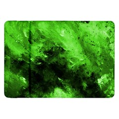 Bright Green Abstract Samsung Galaxy Tab 8 9  P7300 Flip Case by timelessartoncanvas