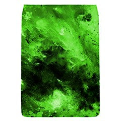 Bright Green Abstract Flap Covers (s)