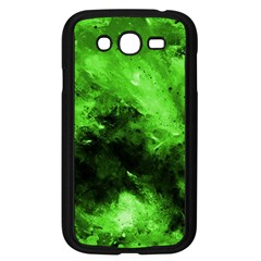 Bright Green Abstract Samsung Galaxy Grand Duos I9082 Case (black)
