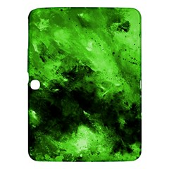 Bright Green Abstract Samsung Galaxy Tab 3 (10 1 ) P5200 Hardshell Case