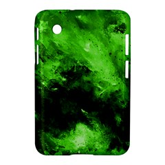 Bright Green Abstract Samsung Galaxy Tab 2 (7 ) P3100 Hardshell Case