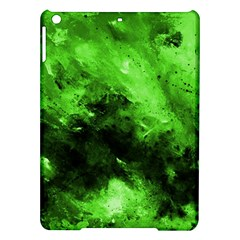 Bright Green Abstract Ipad Air Hardshell Cases