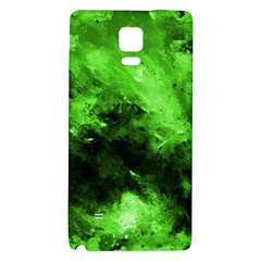Bright Green Abstract Galaxy Note 4 Back Case
