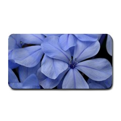 Bright Blue Flowers Medium Bar Mats
