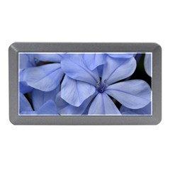 Bright Blue Flowers Memory Card Reader (mini) by timelessartoncanvas