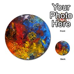 Space Pollen Multi Purpose Cards (round)  by timelessartoncanvas