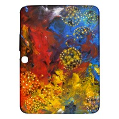 Space Pollen Samsung Galaxy Tab 3 (10 1 ) P5200 Hardshell Case  by timelessartoncanvas