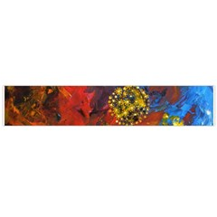 Space Pollen Flano Scarf (large)  by timelessartoncanvas