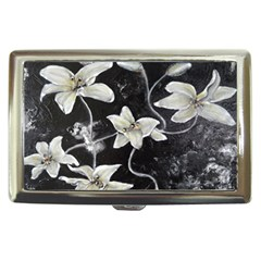 Black And White Lilies Cigarette Money Cases by timelessartoncanvas