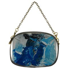 Blue Abstract Chain Purses (one Side)  by timelessartoncanvas