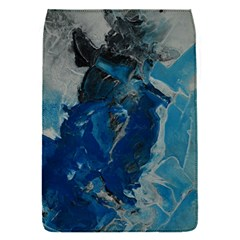 Blue Abstract Flap Covers (s)  by timelessartoncanvas
