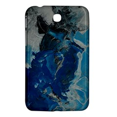Blue Abstract Samsung Galaxy Tab 3 (7 ) P3200 Hardshell Case  by timelessartoncanvas