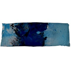Blue Abstract No 2 Body Pillow Cases (dakimakura)  by timelessartoncanvas