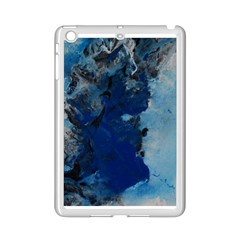 Blue Abstract No 2 Ipad Mini 2 Enamel Coated Cases by timelessartoncanvas