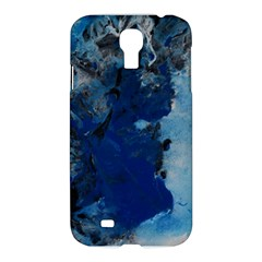 Blue Abstract No 2 Samsung Galaxy S4 I9500/i9505 Hardshell Case
