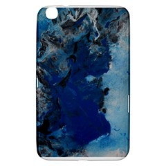 Blue Abstract No 2 Samsung Galaxy Tab 3 (8 ) T3100 Hardshell Case  by timelessartoncanvas