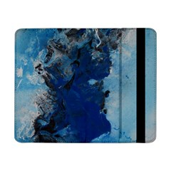 Blue Abstract No 2 Samsung Galaxy Tab Pro 8 4  Flip Case by timelessartoncanvas