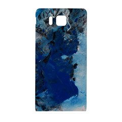 Blue Abstract No 2 Samsung Galaxy Alpha Hardshell Back Case by timelessartoncanvas