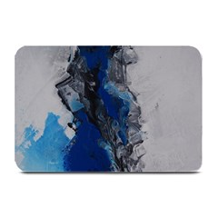 Blue Abstract No 3 Plate Mats by timelessartoncanvas
