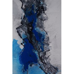 Blue Abstract No 3 5 5  X 8 5  Notebooks by timelessartoncanvas