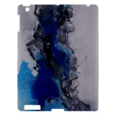 Blue Abstract No 3 Apple Ipad 3/4 Hardshell Case