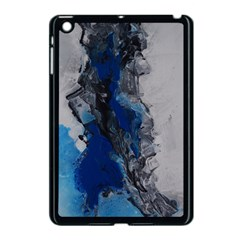 Blue Abstract No 3 Apple Ipad Mini Case (black) by timelessartoncanvas