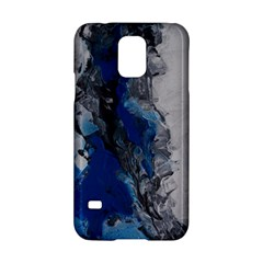 Blue Abstract No 3 Samsung Galaxy S5 Hardshell Case