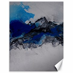 Blue Abstract No 4 Canvas 18  X 24   by timelessartoncanvas