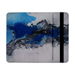 Blue Abstract No 4 Samsung Galaxy Tab Pro 8 4  Flip Case by timelessartoncanvas
