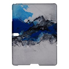 Blue Abstract No 4 Samsung Galaxy Tab S (10 5 ) Hardshell Case  by timelessartoncanvas