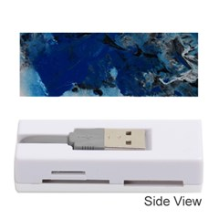 Blue Abstract No 5 Memory Card Reader (stick)  by timelessartoncanvas
