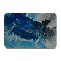 Blue Abstract No  6 Plate Mats by timelessartoncanvas