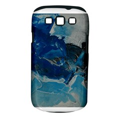 Blue Abstract No  6 Samsung Galaxy S Iii Classic Hardshell Case (pc+silicone) by timelessartoncanvas