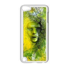 Green Mask Apple Ipod Touch 5 Case (white)