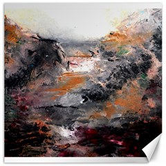 Natural Abstract Landscape Canvas 16  X 16   by timelessartoncanvas