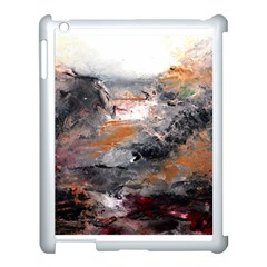 Natural Abstract Landscape Apple Ipad 3/4 Case (white) by timelessartoncanvas