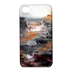 Natural Abstract Landscape Apple Iphone 4/4s Hardshell Case With Stand by timelessartoncanvas