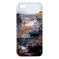 Natural Abstract Landscape Apple Iphone 5 Premium Hardshell Case