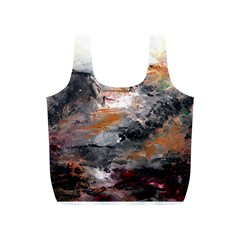 Natural Abstract Landscape Full Print Recycle Bags (s)