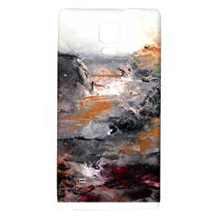 Natural Abstract Landscape Galaxy Note 4 Back Case by timelessartoncanvas
