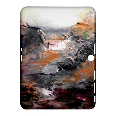 Natural Abstract Landscape Samsung Galaxy Tab 4 (10 1 ) Hardshell Case  by timelessartoncanvas
