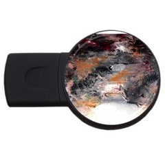 Natural Abstract Landscape No  2 Usb Flash Drive Round (4 Gb)  by timelessartoncanvas