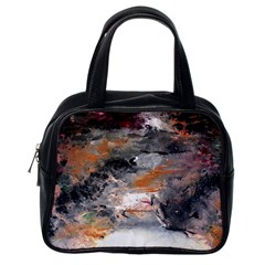 Natural Abstract Landscape No  2 Classic Handbags (one Side) by timelessartoncanvas