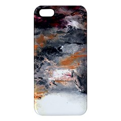 Natural Abstract Landscape No  2 Iphone 5s Premium Hardshell Case by timelessartoncanvas