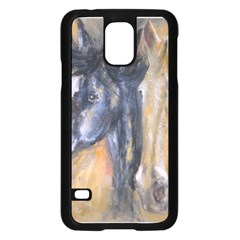 2 Horses Samsung Galaxy S5 Case (black)